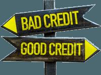 Good credit - Bad credit